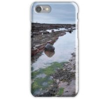 Dawn Light on the Car Rocks iPhone Case/Skin