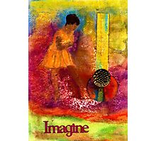 Imagine Winning Photographic Print