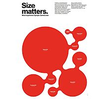 Size matters (II) Photographic Print