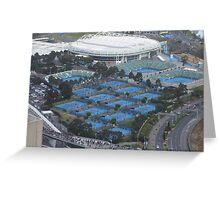 Tennis Anyone? .... Melbourne, Australia Greeting Card