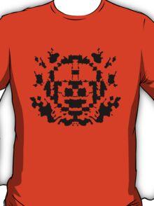 8 Bit Ink Blot - MegaMan T-Shirt