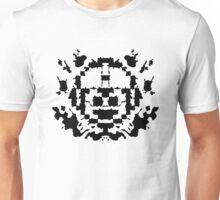 8 Bit Ink Blot - MegaMan Unisex T-Shirt