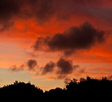 Warrnambool winter sunset by Roger Neal