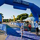 Kingscliff Triathlon 2011 Finish line B5908 by Gavin Lardner