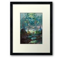 Fantasy landscape Framed Print