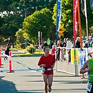 Kingscliff Triathlon 2011 Finish line B5949 by Gavin Lardner