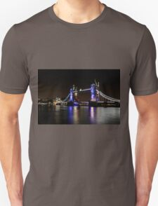 Tower Bridge, London night T-Shirt