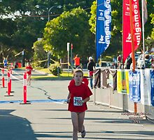 Kingscliff Triathlon 2011 Finish line B5956 by Gavin Lardner