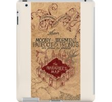 The Marauders Map 2 iPad Case/Skin