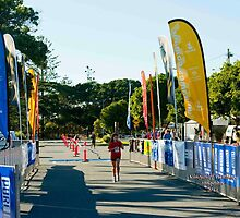 Kingscliff Triathlon 2011 Finish line B5963 by Gavin Lardner