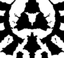 Hyrule Rorschach Sticker