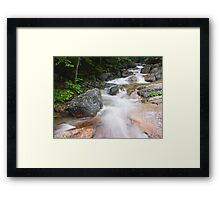 Above The Flume, Franconia Notch, New Hampshire Framed Print