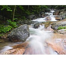 Above The Flume, Franconia Notch, New Hampshire Photographic Print