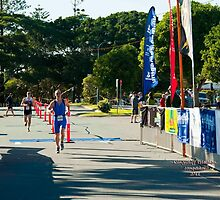 Kingscliff Triathlon 2011 Finish line B5984 by Gavin Lardner