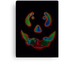 Jack-O lantern Canvas Print