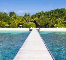 Velidhu Atoll, The Maldives Sticker