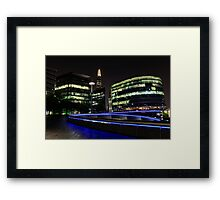 London lights Framed Print