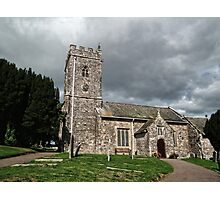 The Parish Church of St Margaret & St Andrew, Littleham Photographic Print