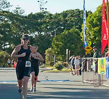 Kingscliff Triathlon 2011 Finish line B6003 by Gavin Lardner