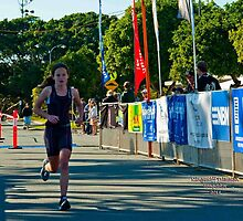 Kingscliff Triathlon 2011 Finish line B6013 by Gavin Lardner