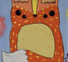 Odd Fox Beauty Sticker