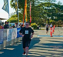 Kingscliff Triathlon 2011 Finish line B6017 by Gavin Lardner