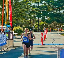 Kingscliff Triathlon 2011 Finish line B6022 by Gavin Lardner