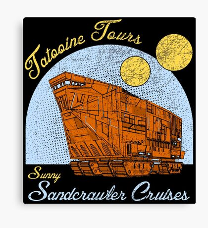 Tatooine Tours Canvas Print