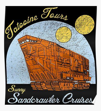 Tatooine Tours Poster