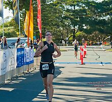 Kingscliff Triathlon 2011 Finish line B6026 by Gavin Lardner