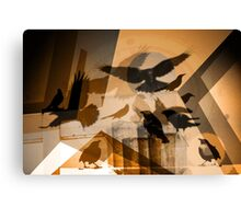 The Enemy that Scans the Skies Canvas Print