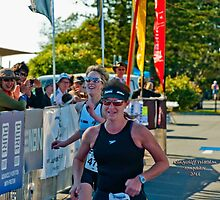 Kingscliff Triathlon 2011 Finish line B6034 by Gavin Lardner