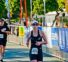 Kingscliff Triathlon 2011 Finish line B6047 by Gavin Lardner