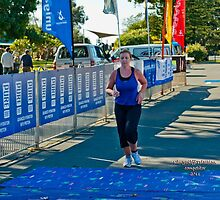 Kingscliff Triathlon 2011 Finish line B6064 by Gavin Lardner