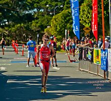 Kingscliff Triathlon 2011 Finish line B6106 by Gavin Lardner