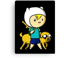 Adventure Time - Finn and Jake. Canvas Print