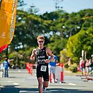 Kingscliff Triathlon 2011 Finish line B6113 by Gavin Lardner