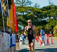 Kingscliff Triathlon 2011 Finish line B6141 by Gavin Lardner