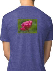 Backlit Fluffy Tulip Tri-blend T-Shirt