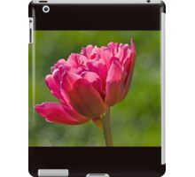 Backlit Fluffy Tulip iPad Case/Skin