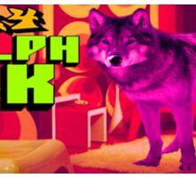 3704 Woolph Pak Sticker