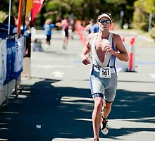 Kingscliff Triathlon 2011 Finish line B6198 by Gavin Lardner