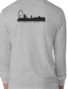 The Science Of Deduction - BLACK Long Sleeve T-Shirt