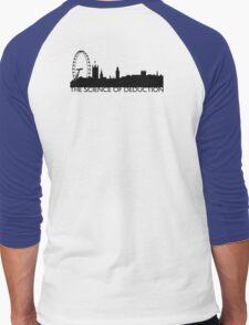 The Science Of Deduction - BLACK Men's Baseball ¾ T-Shirt