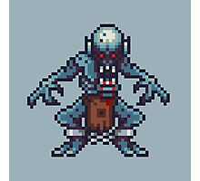 Ghoul pixel art Photographic Print