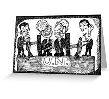 UN Presidential Vice-Grip Greeting Card