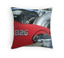 RB26 Engine Throw Pillow