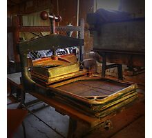 Preserving the past ~ Book Press ~ Goulburn Brewery ~ NSW Photographic Print
