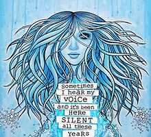 Sometimes I Hear My Voice by Sarah ORourke