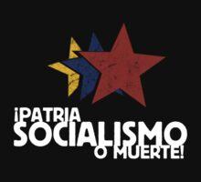 Patria, Socialismo o Muerte by lughdailh